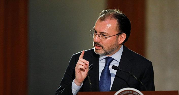 El canciller de México, Luis Videgaray