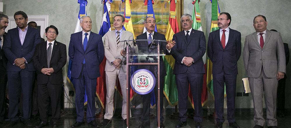 Nueva instancia de diálogo entre el Gobierno de Venezuela y la oposición en República Dominicana