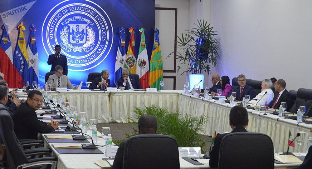 La reunión entre el Gobierno y la oposición venezolana en República Dominicana
