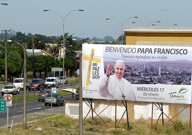 Preparativos para la visita del Papa Francisco a Chile