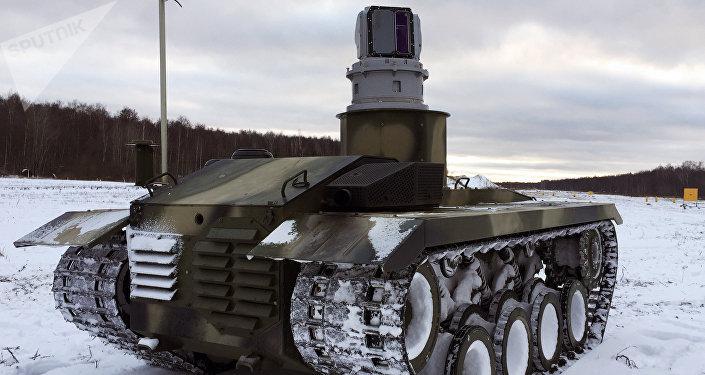 El robot ruso de combate Nerekhta