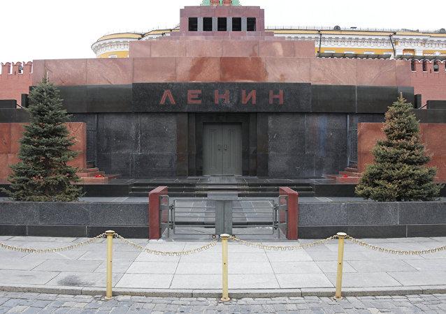 El mausoleo de Lenin en Moscú