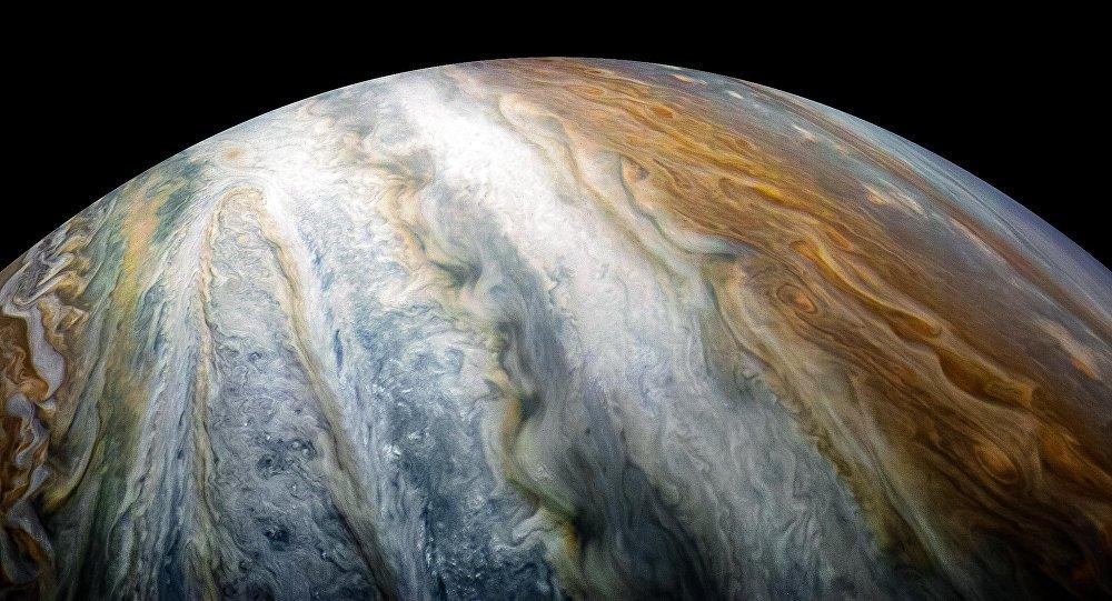 La NASA capta a un presunto fantasma en Júpiter