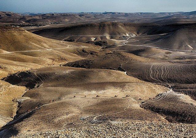 El desierto israelí, imagen ilustrativa