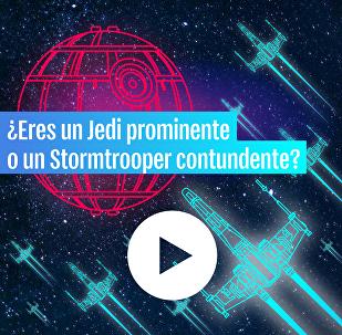 ¿Eres un Jedi prominente o un Stormtrooper contundente?