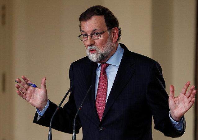 Mariano Rajoy, el presidente del Gobierno español