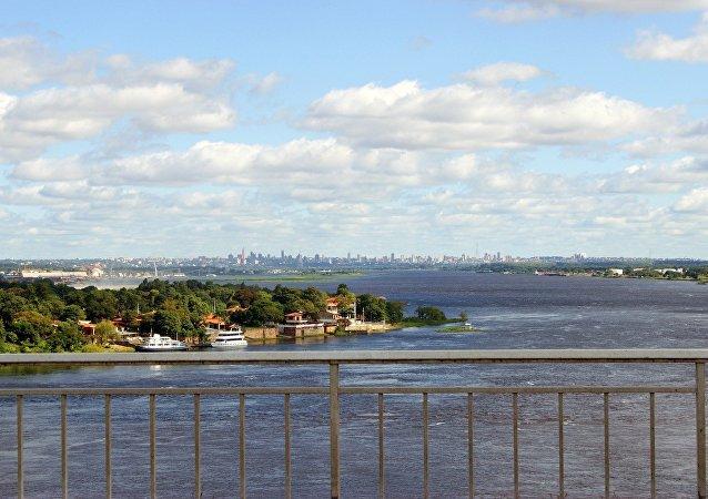 Río Paraguay (imagen referencial)