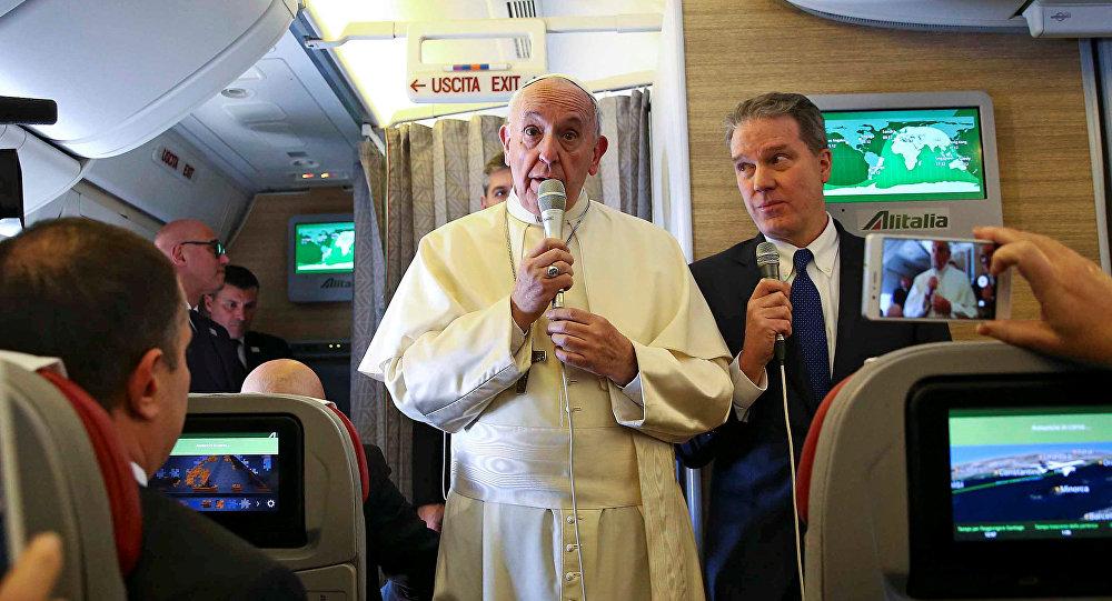 El Papa Francisco durante su viaje a Chile y Peru