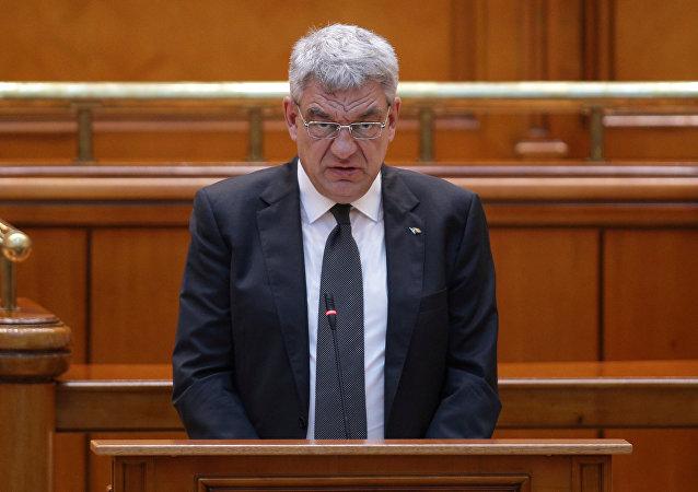 Mihai Tudose, primer ministro de Rumanía (archivo)