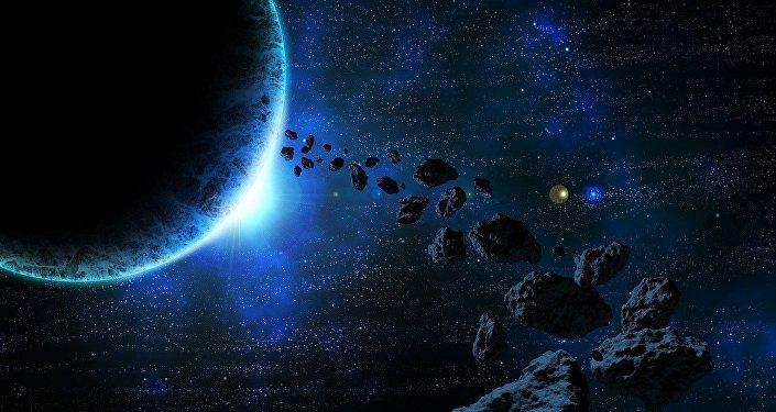 Asteroides, imagen ilustrativa