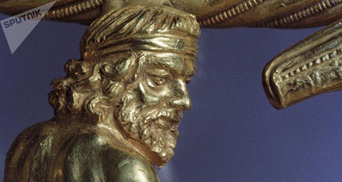 Una joya escita del siglo IV antes de Cristo