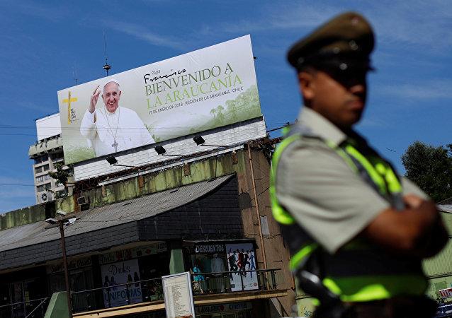 La Araucanía (centro sur de Chile) ante la llegada del papa Francisco
