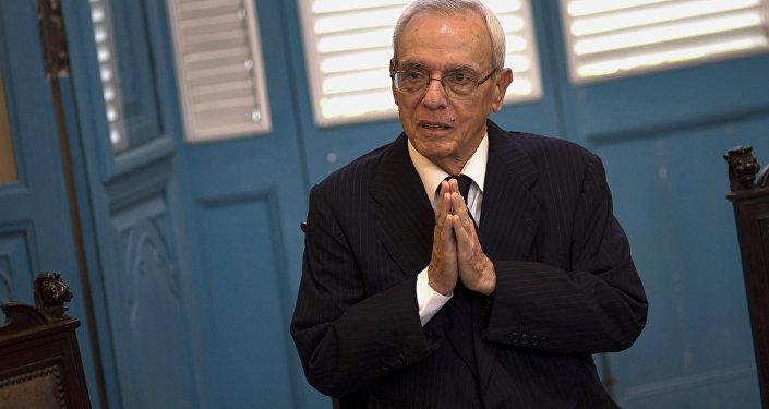 Eusebio Leal, el historiador de La Habana