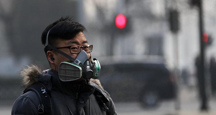 Contaminación atmosférica en China (archivo)