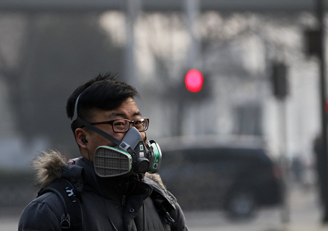 Contaminación atmosférica en China (archivo)