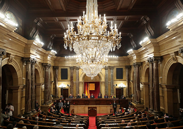 El Parlamento de Cataluña (imagen referencial)