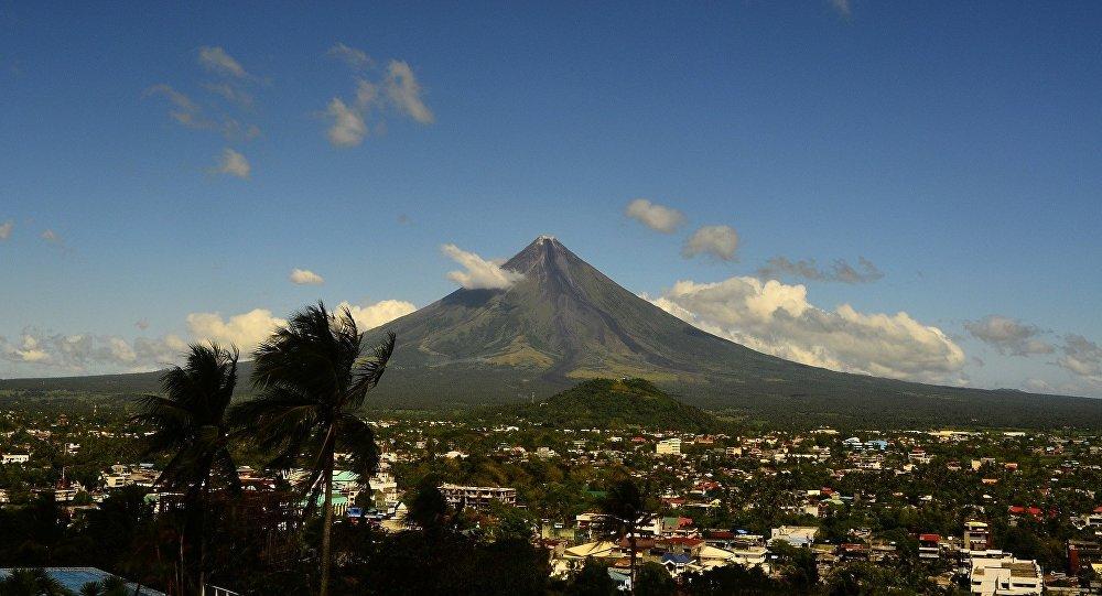 Volcan Mayón, Filipinas