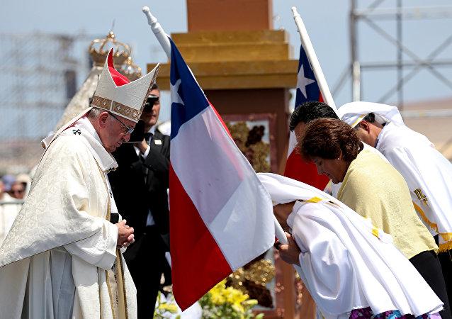 Papa Francisco celebra última misa en Chile