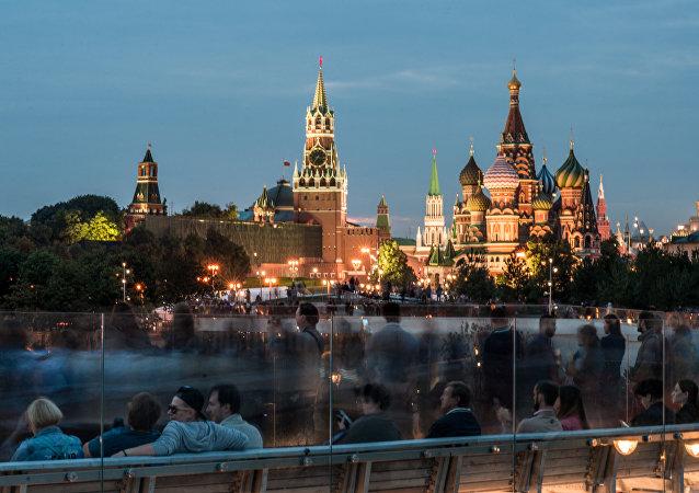 Moscú, capital de Rusia (archivo)