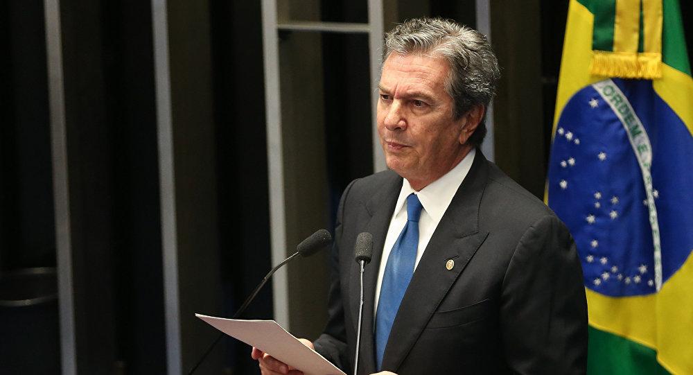 Fernando Collor de Mello, expresidente brasileño