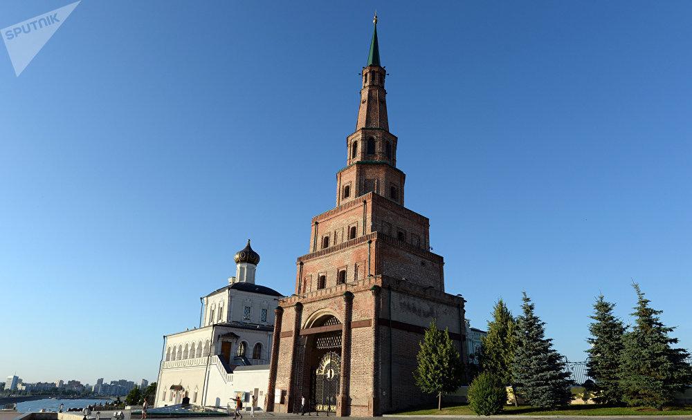 La torre Siuyumbike en Kazán