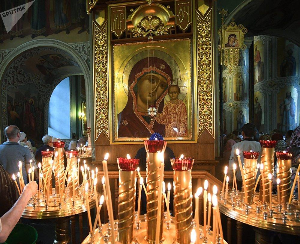 El ícono de Nuestra Señora de Kazán