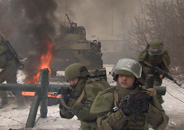 Rusia pone a prueba un novedoso traje táctico de combate