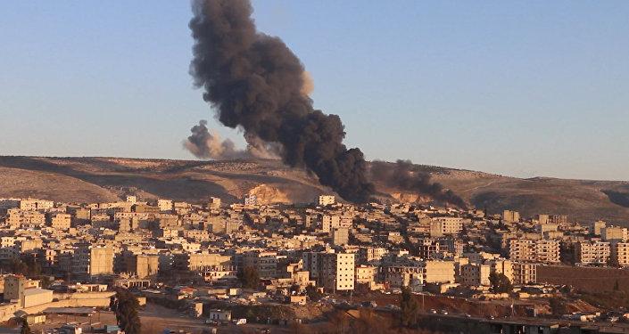 Impactantes imágenes de la operación militar turca contra los kurdos en Afrin