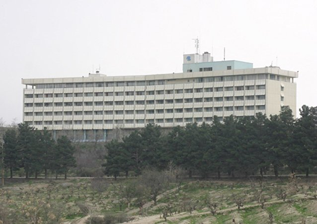 Hotel Intercontinental de Kabul (archivo)