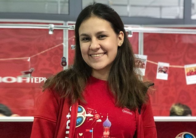 Mariluna Panduro Degtyar, candidata a voluntaria del Mundial de 2018
