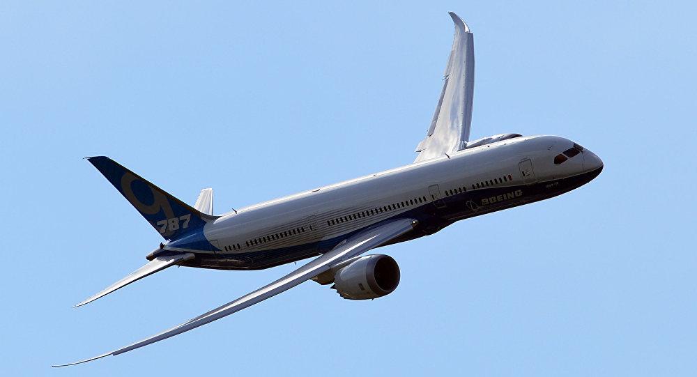 Un Boeing 787-9 (archivo)