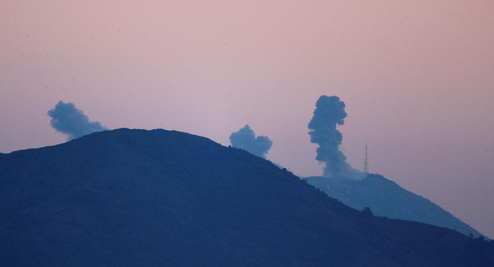 Bombardeos en la localidad siria de Afrín