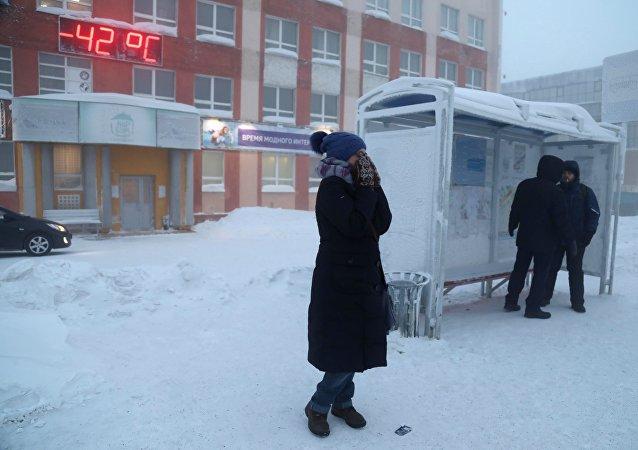 Frío anómalo en Rusia (imagen referencial)
