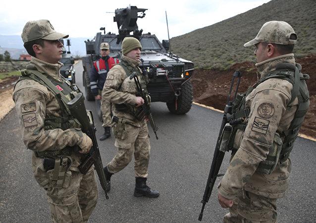 Ejército turco en Siria