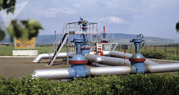 El punto de origen del oleoducto ruso Druzhba en Tartaristán