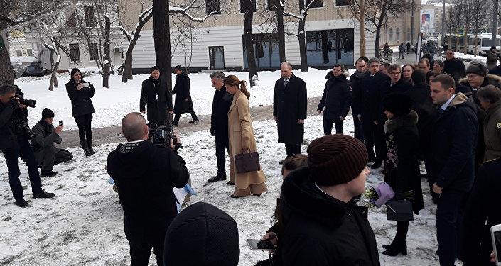 Mauricio Macri inaugura en Moscú la plaza de la República Argentina