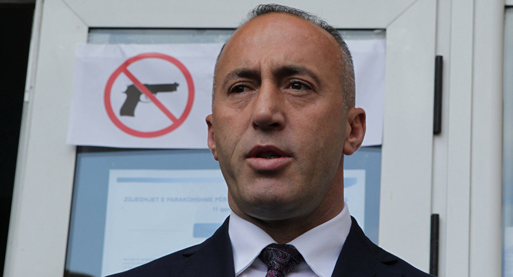 Ramush Haradinaj, el primer ministro de Kosovo