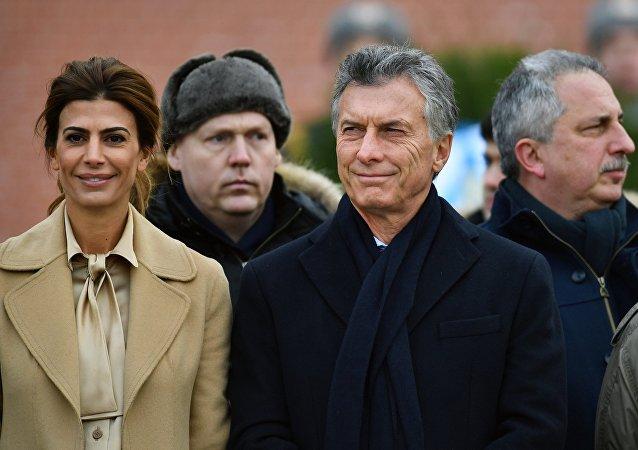 La visita del presidente argentino Mauricio Macri a Rusia