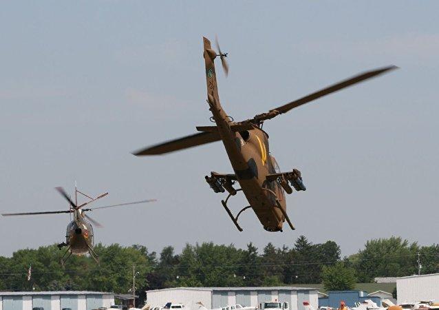 Bell AH1 Cobra (imagen referencial)