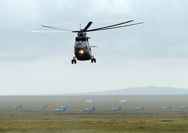 Helicópetro ruso Mi-26 (archivo)