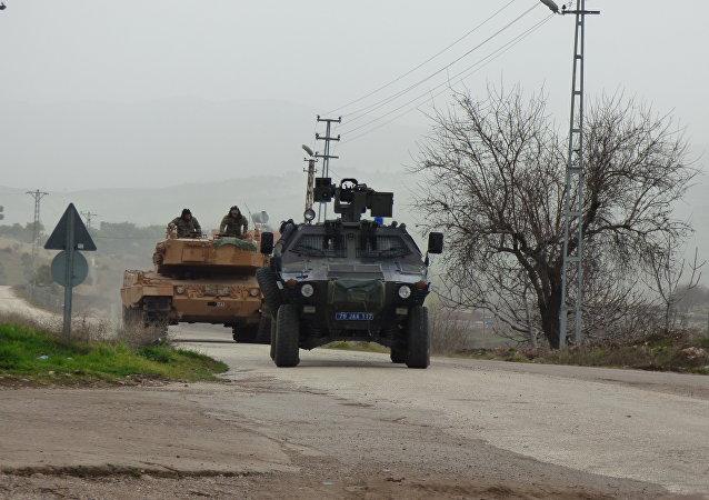 Militares turcos en el territorio de Siria (archivo)