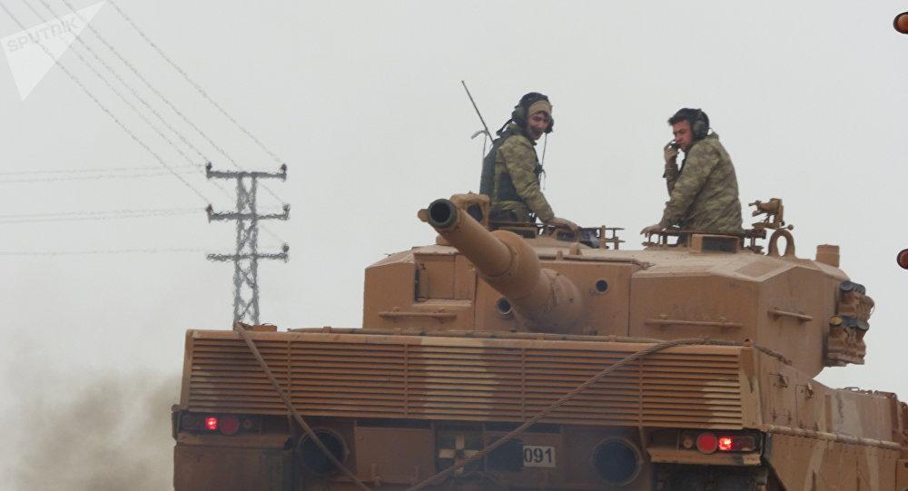 Tanques turcos en Siria
