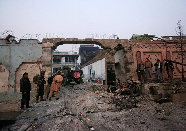 La situación tras el taque a la oficina de la ONG Save the Children en la ciudad afgana de Jalalabad
