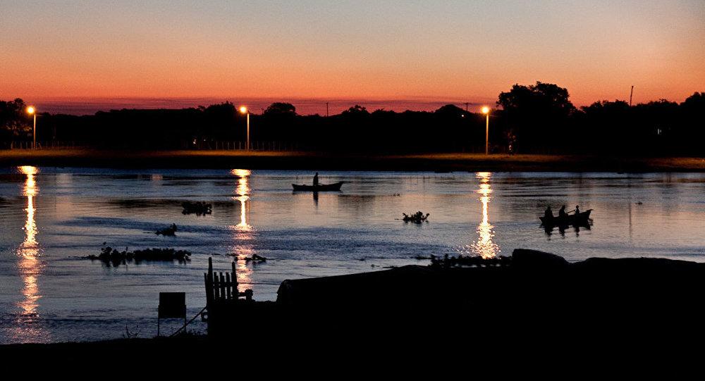 El río Paraguay (imagen referencial)