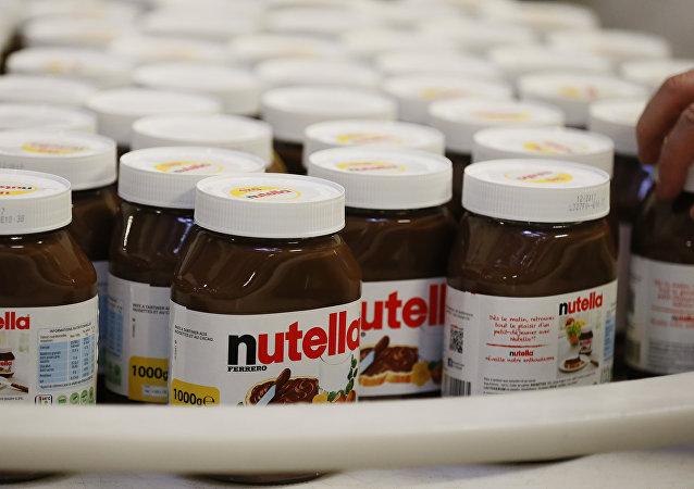 Nutella, crema de chocolate