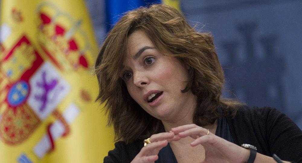 Soraya Sáenz de Santamaría, la vicepresidenta española