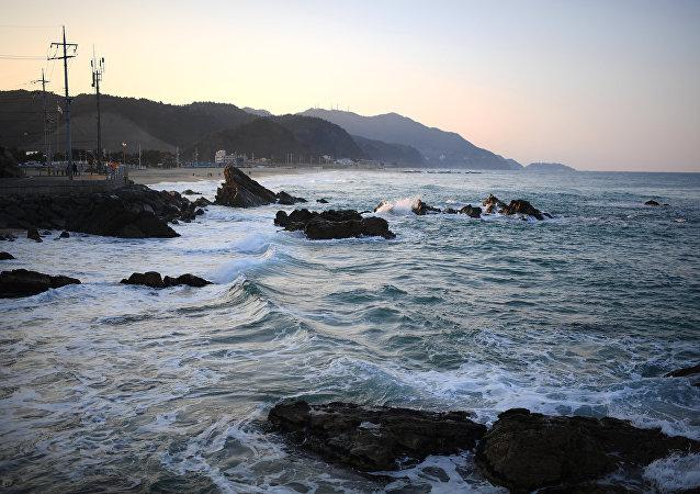 Mar de Japón (imagen referencial)
