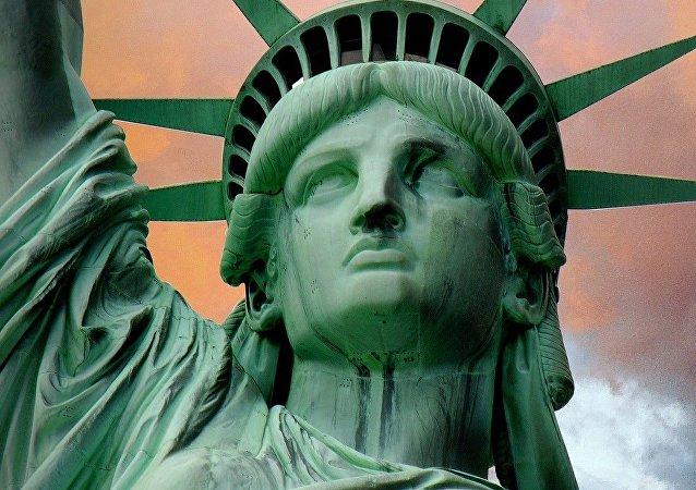 Estatua de la libertad en Nueva York (archivo)