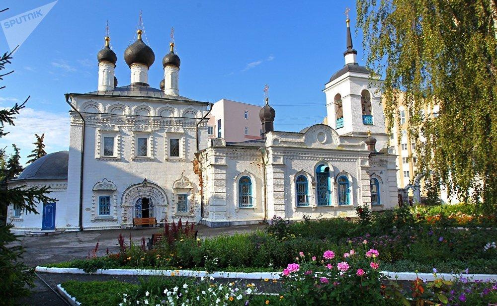 Templo de San Juan Bautista, en Saransk