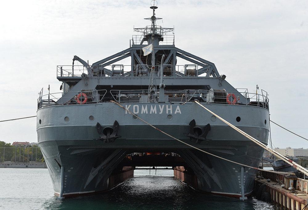 El buque de salvamento ruso Kommuna